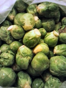 growing to love the brussel sprout