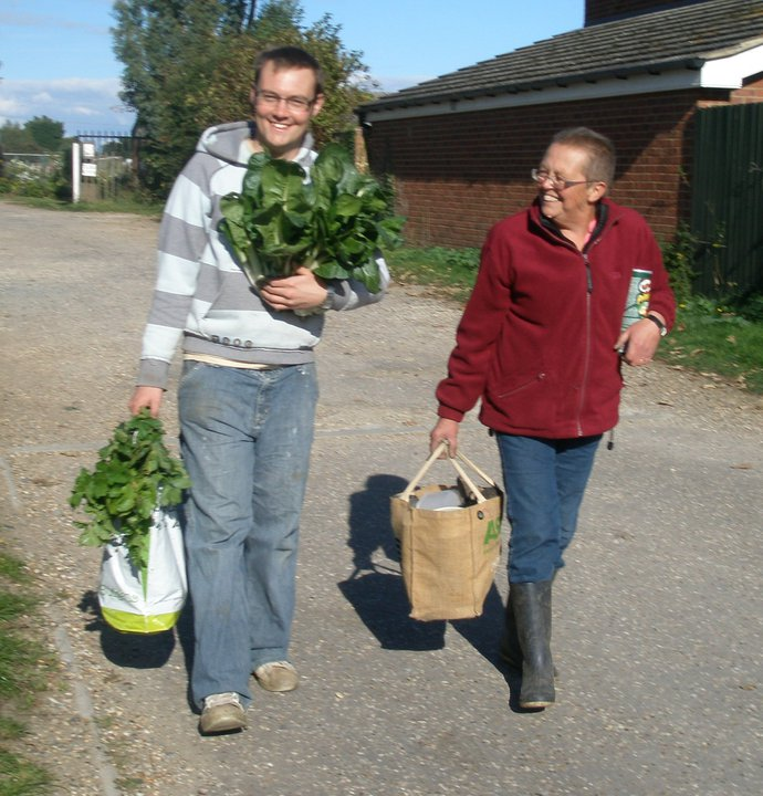 taking on an allotment with a partner