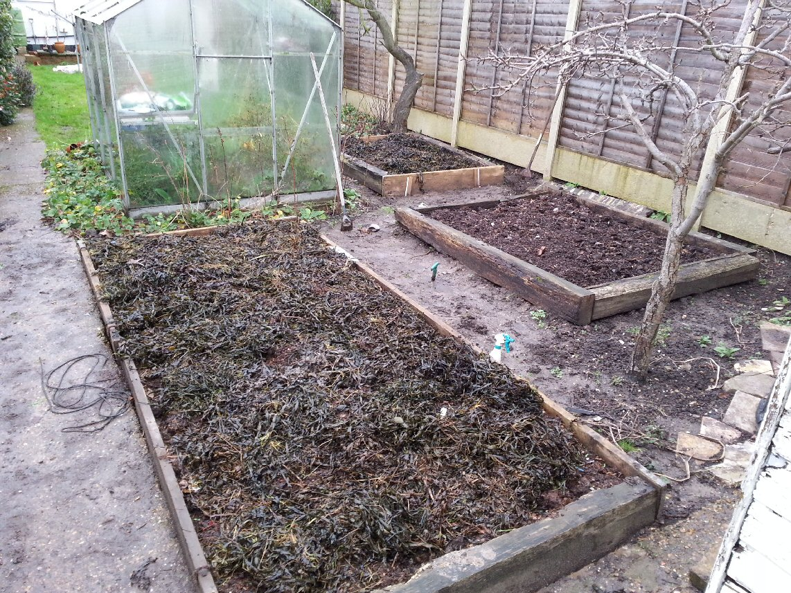 A soil improver change for 2014 seaweed and kitchen for Soil improver