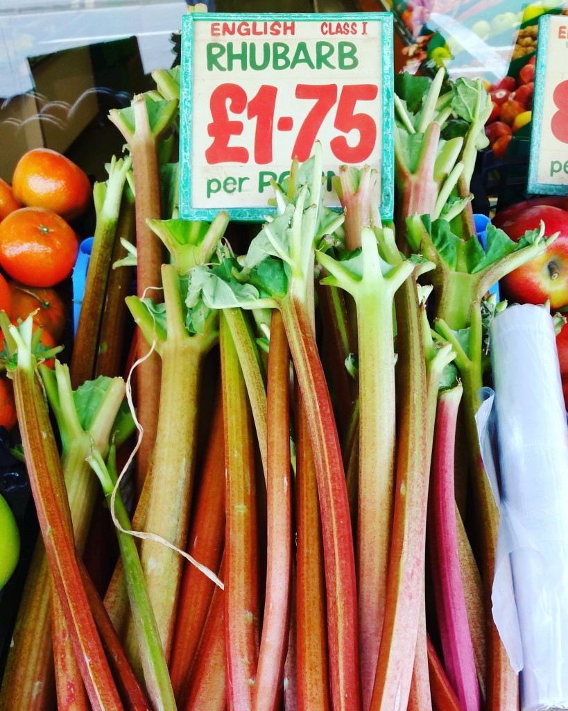 things I miss about growing rhubarb